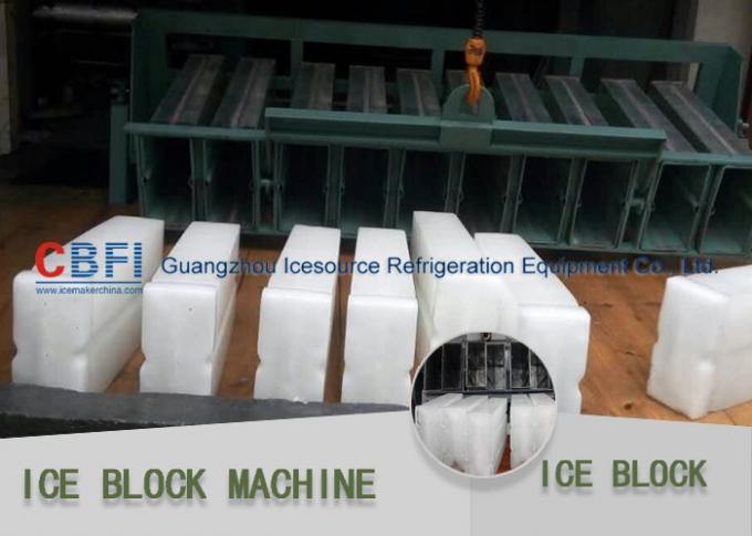 3 Tons Stainless Steel Industrial Commercial Ice Block Making Machine R22 / R404a