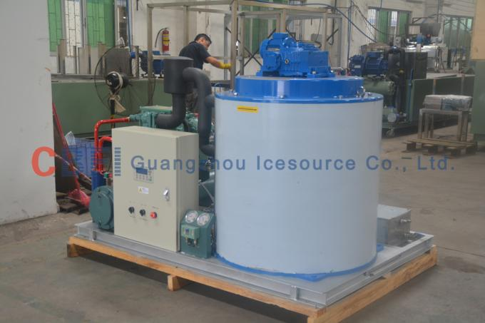 Free Standing Heavy Duty Ice Making Plant With High Production
