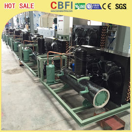 Easy Operation Low Temperature Chiller / Air Cooled Chiller For Ice Making Machine