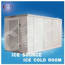 Concrete Design Moisture Proof Light Cold Room Blast Chiller Freezer With Cement Floor
