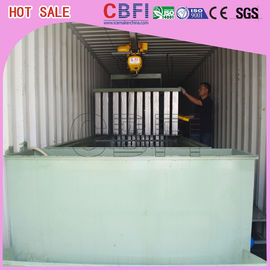 Containerized Block Ice Plant Container Industrial Ice Block Making Machine for Fishery