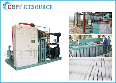 50 tons Large Capacity   Ice Block  Machine  Power Saving with Coil Evaporator Design Saving Power