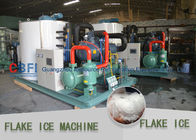 High Efficiency Automatic Snowflake Ice Machine / Commercial Flake Ice Maker تامین کننده