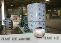 Market Cooling Fish / Vegetable Flake Ice Making Machine Fresh Ice Bitzer Compressor تامین کننده