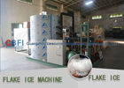 چین Dressing Plant Irregular Shape Flake Ice Making Machine 500kg - 30000kg کارخانه