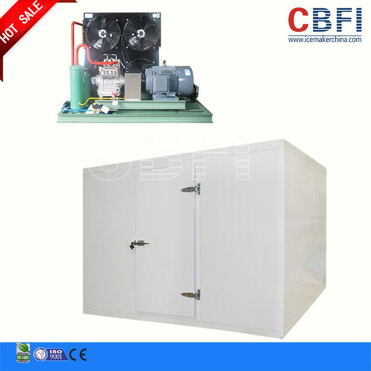 Adjustable Temperature Commercial Blast Freezer , Blast Chiller Freezer For Grain / Corp Storage تامین کننده
