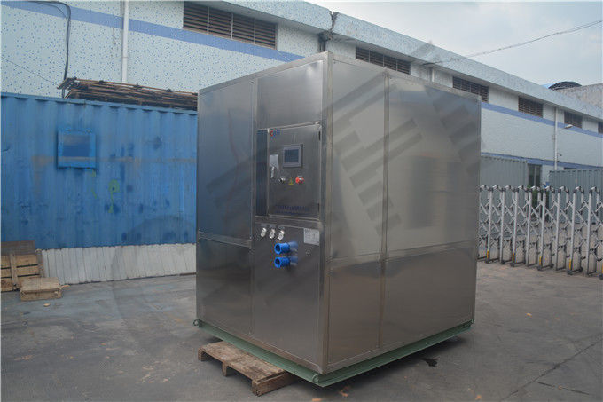 Freezing Seafood Meat Plate Ice Machine / Commercial Ice Makers High Output تامین کننده