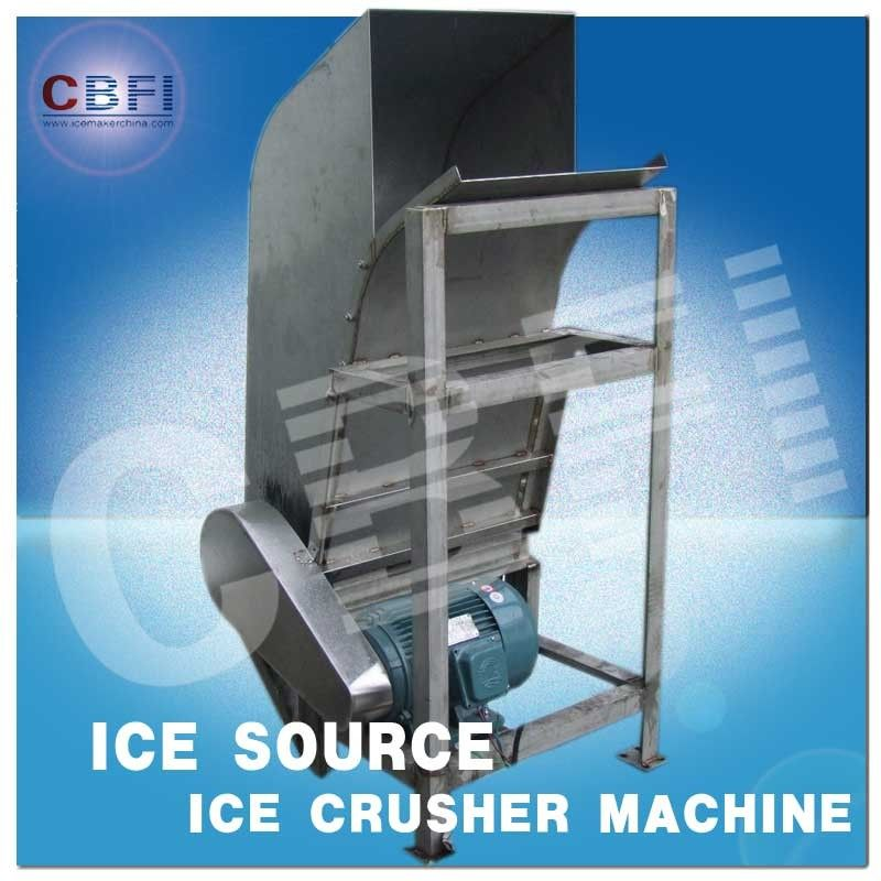 Water Proof Crushed Ice Maker Machine / Industrial Ice Crusher Machine Energy Saving  تامین کننده