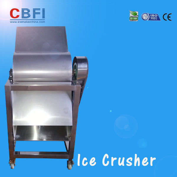 CBFI Stainless Steel 304 Ice Crusher Machine For Bars / Fast Food Shops تامین کننده