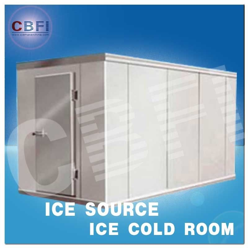 Concrete Design Moisture Proof Light Cold Room Blast Chiller Freezer With Cement Floor تامین کننده