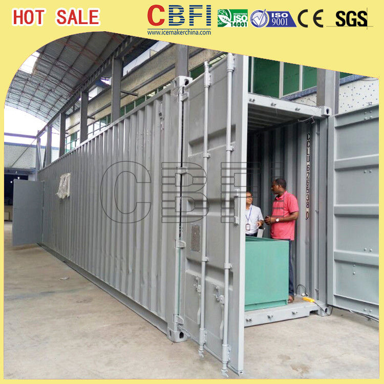 5 Ton Per Day Containerized Block Ice Machine, Ice Block Making Business  تامین کننده