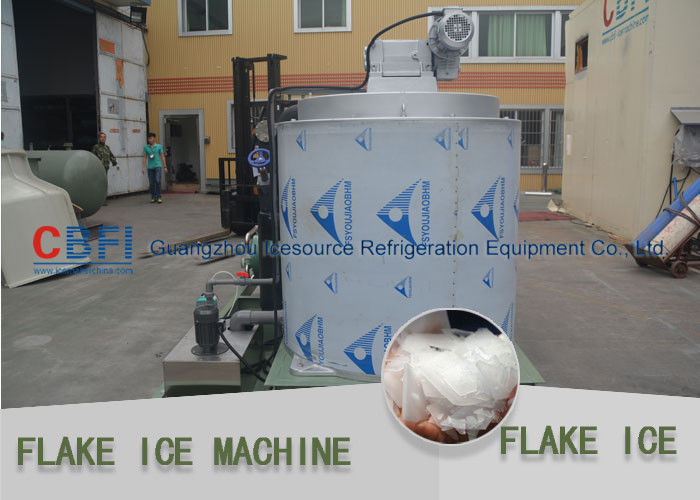 Industrial Flake Ice Maker For Meat With 1 Year Warranty CE Approved تامین کننده