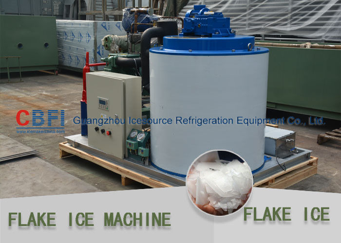 Large Daily Capacity Commercial Flake Ice Machine Fresh Water 10 Tons - 30 Tons تامین کننده