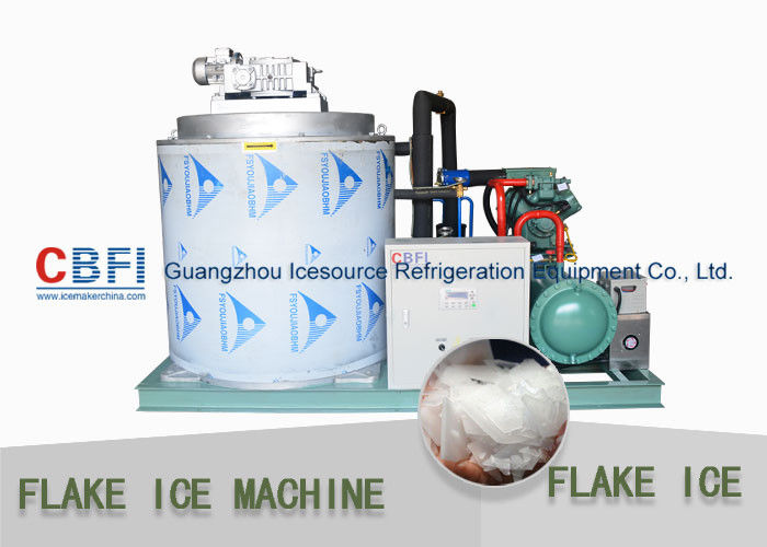 One Year Warranty Flake Ice Making Machine Flake Ice Maker For Keep Fresh Seafood تامین کننده