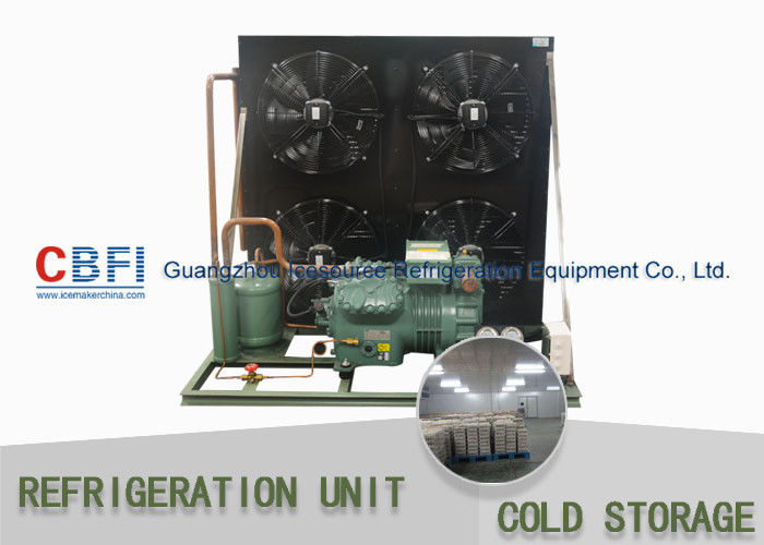 R134a Refrigerant Air & Water Cooling Unit / Cold Storage Room Energy Saving تامین کننده