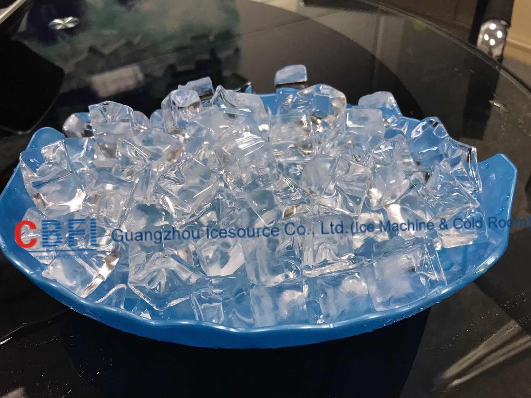 Integrated Industrial Ice Cube Making Machine R507 Refrigerant تامین کننده