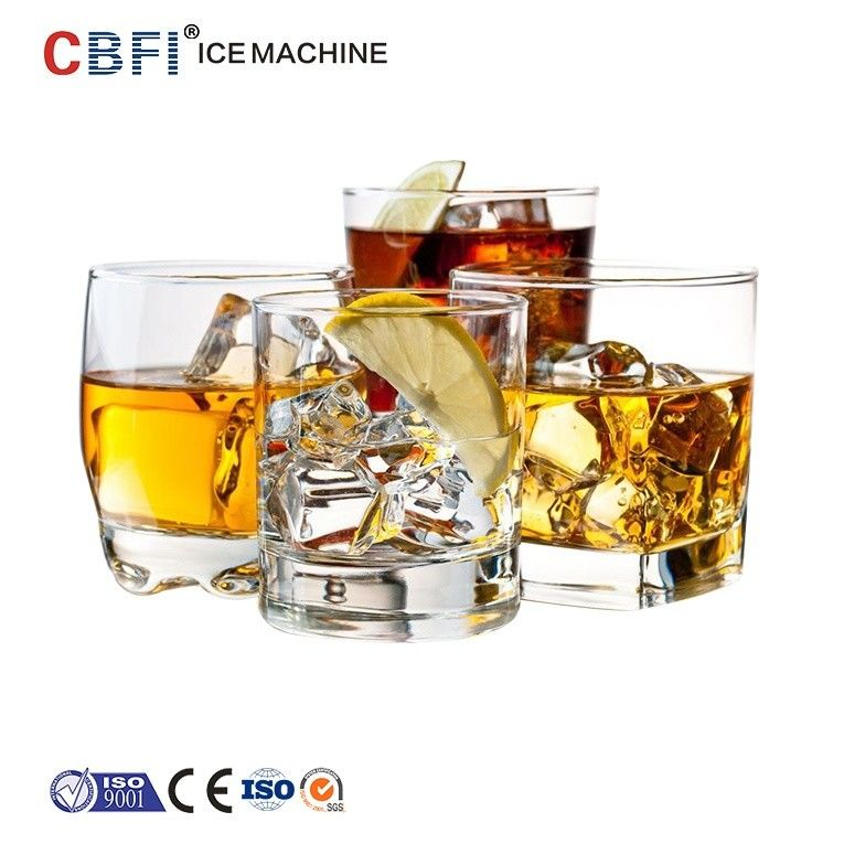 Party Ice Cube Machine For Bar , Compact Commercial Ice Maker تامین کننده