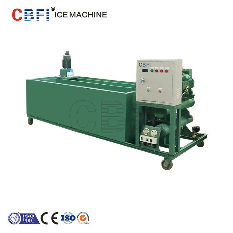 1000Kg - 100000Kg Capacity Ice Block Machine With PLC Controller تامین کننده