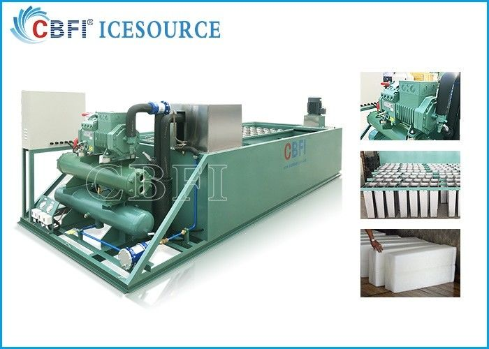 Evaporative / Air / Water Cooled Ice Machine , Automatic Ice Machine Large Production تامین کننده