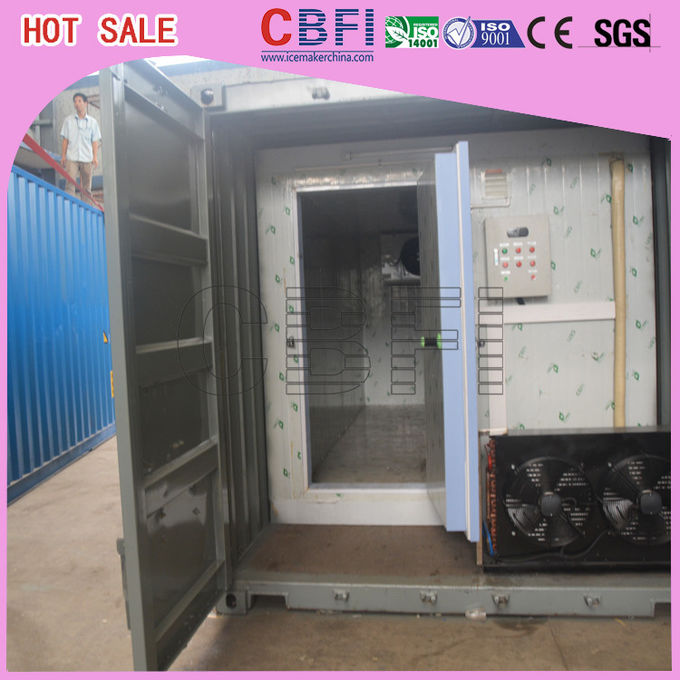 Second Hand Freezer Shipping Containers Cold Room For Fruits , Meat , Ice Storage