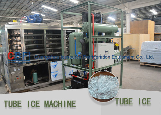Intelligent Germany Control Tube Ice Maker Daily Capacity 1000kg / 24h - 30,000kg / 24h