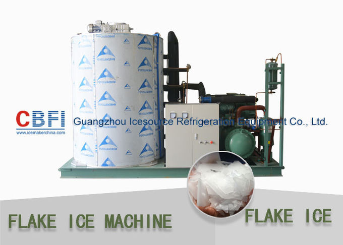Touch Screen Flake Ice Maker with German Bitzer Compressor / Water Cooling Condenser
